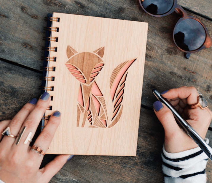 Fox Notebook Gifts for Animal Lovers