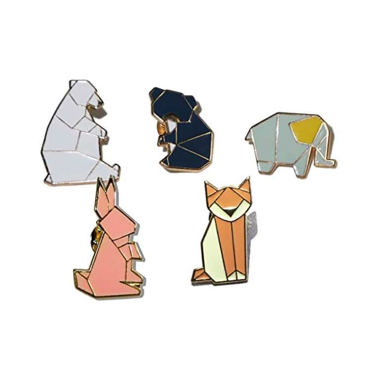 Enamel Animal Pins Gifts for Animal Lovers