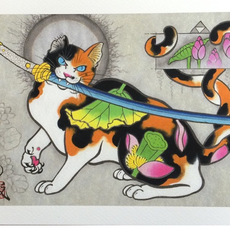 Kazuaki Horitomo monmon cats