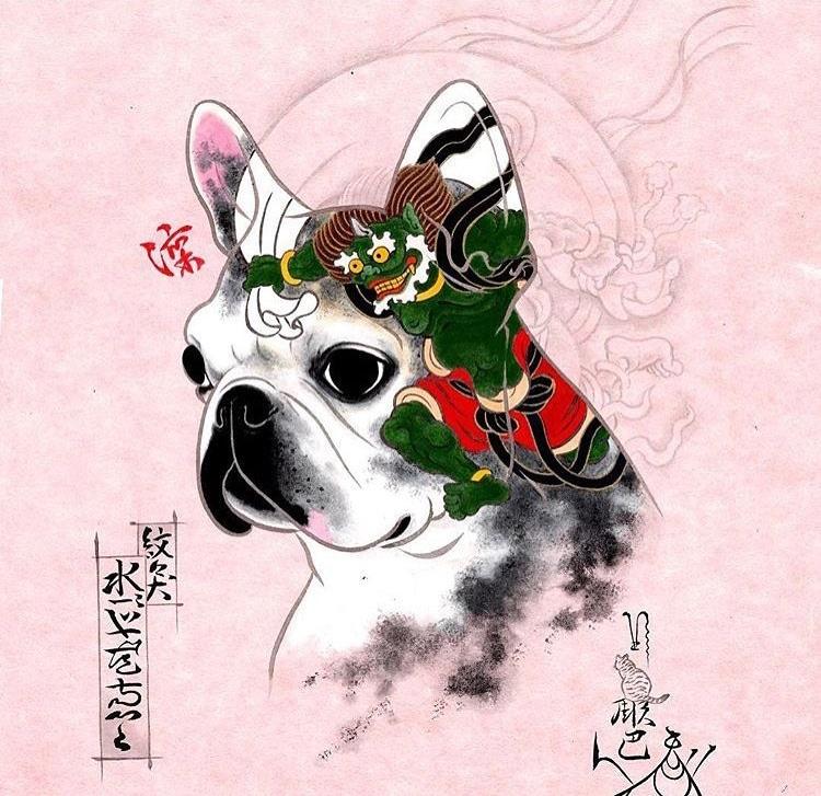 Kazuaki Horitomo monmon dog