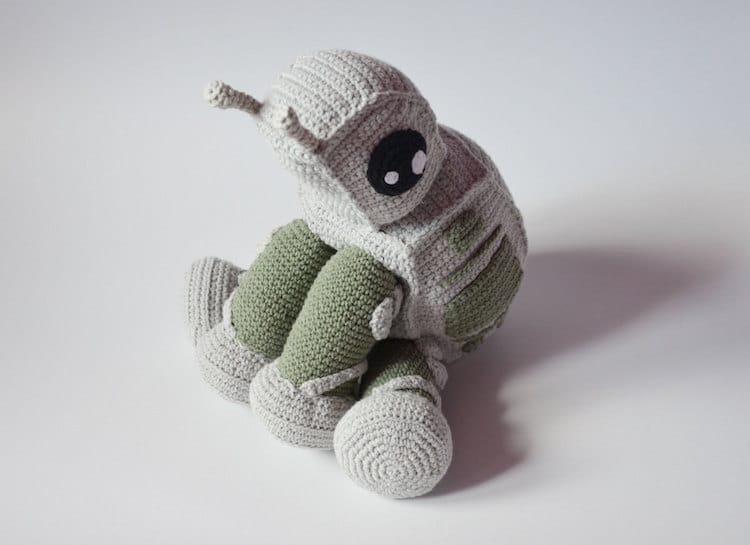 Krawka At-At crochet pattern star wars