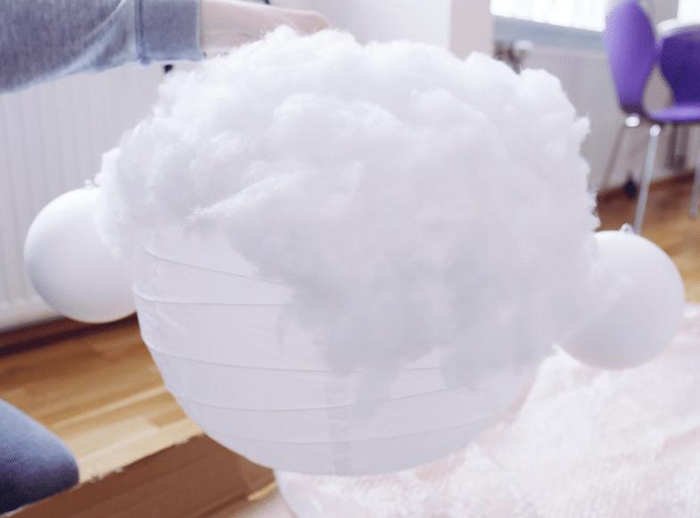 led Cloud light DIY