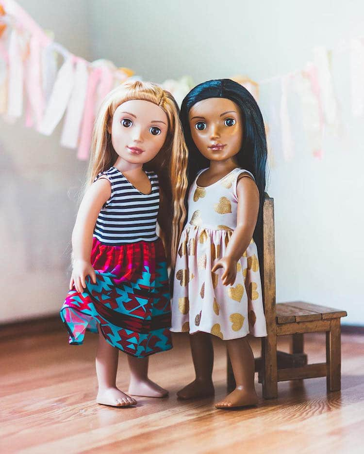 neha hauhan woodward girls and co willowbrook girls diverse dolls