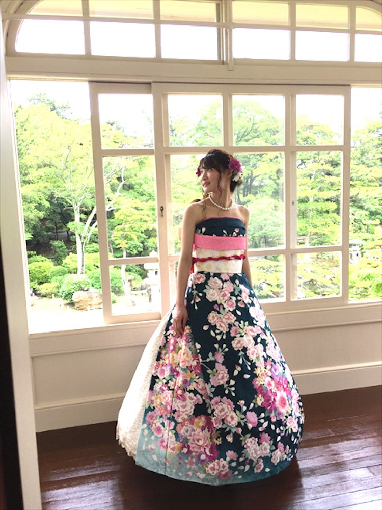 Kimono Wedding Dress Is A Stunning And Easy Diy For Japanese Nuptials