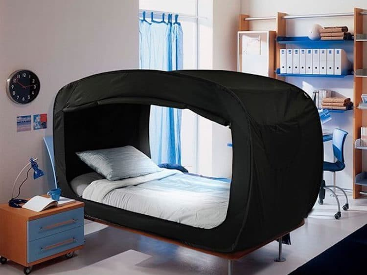 privacy pop bed tent & Bed Tent by Privacy Pop Helps You Sleep Soundly When Youu0027re Anxious