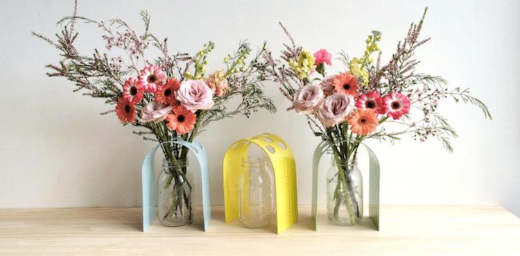 rainy sunday home vase