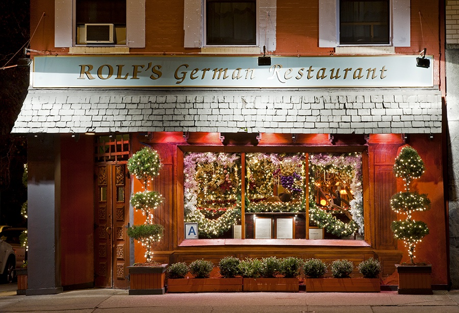 rolfs german restaurant christmas decor christmas decorations festive holiday - Restaurant Christmas Decorations