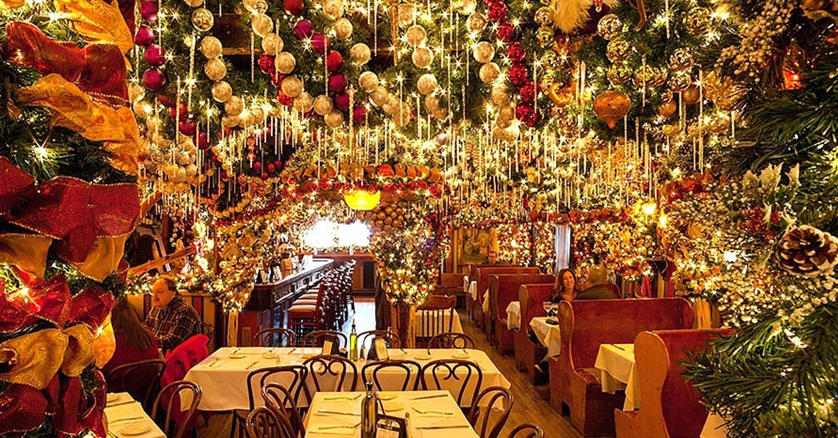 Rolf\'s German Restaurant is Ready for Christmas with 15,000 Ornaments
