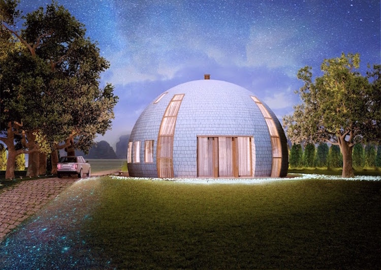 Skydome round homes
