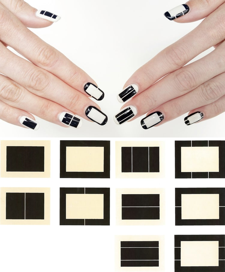 Nail Art History: Nail Art History Recreates Famous Paintings As Fabulous