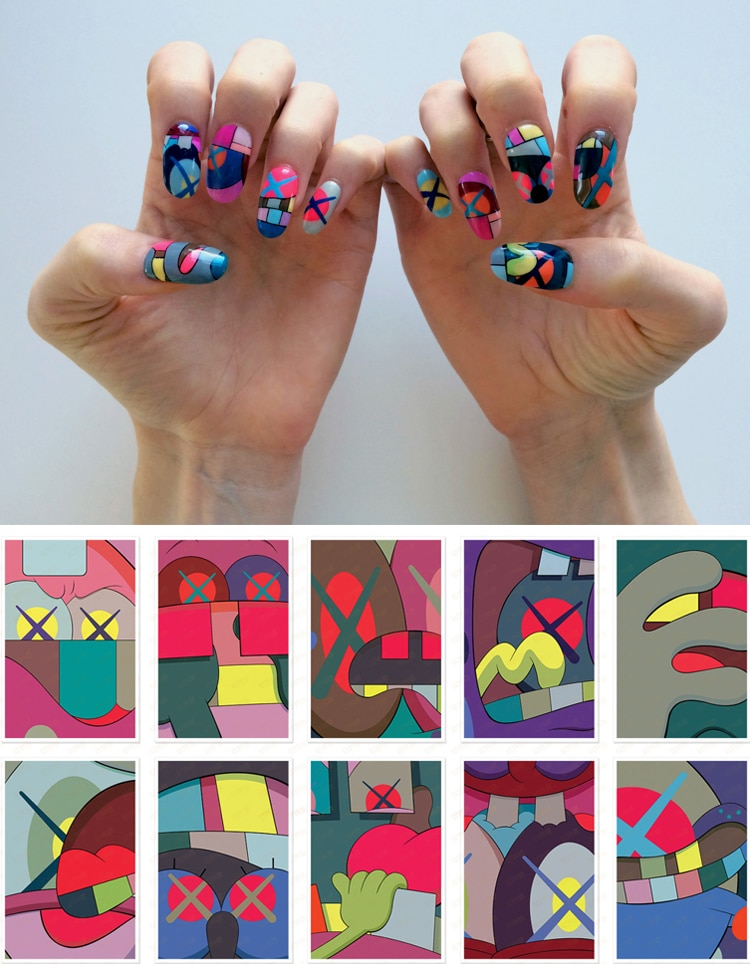 Nail Art History by Susi Kenna