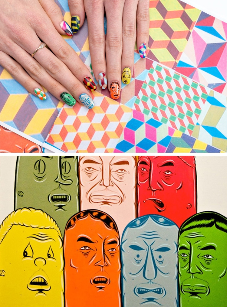 Nail art history recreates famous paintings as fabulous manicures nail art history by susi kenna prinsesfo Images