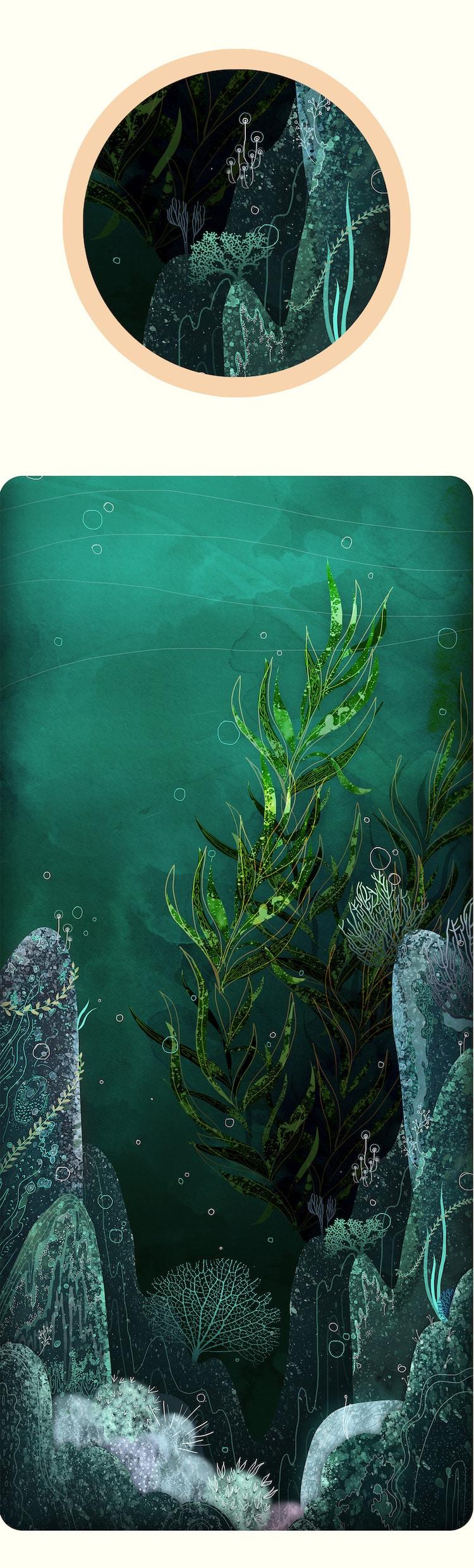 svabhu kohli nature illustration