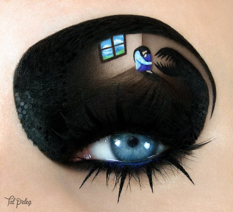 Eyelid Art by Tal Peleg Takes Eye Makeup to Another Level