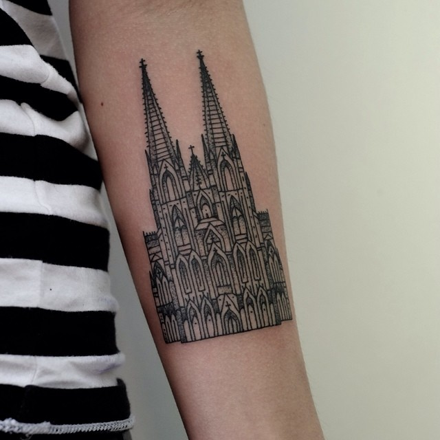 Beautiful Tattoos Celebrate Landmarks And Cityscapes From