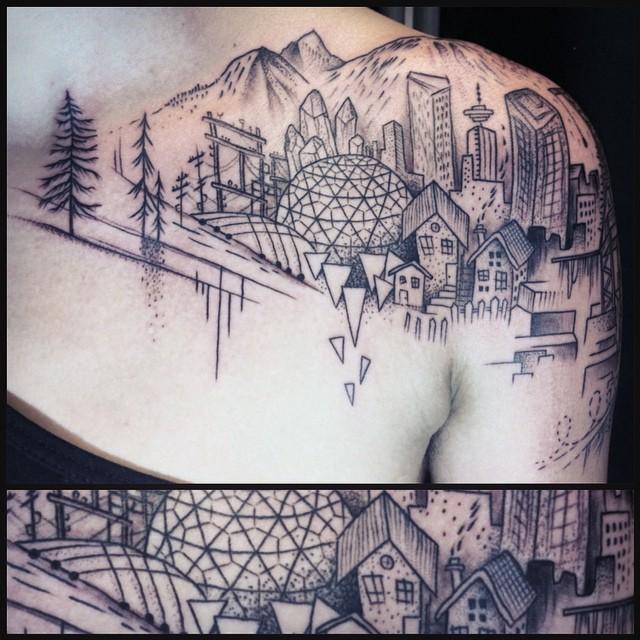 Vancouver, CanadaPhoto credit: @sylvielesylvie_tattoo
