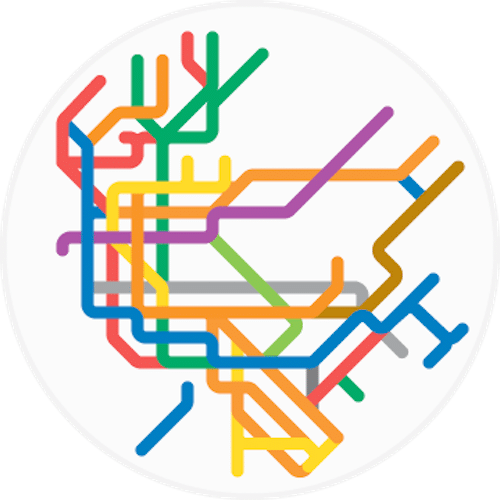 Peter Dovak Mini Metros City Transit Maps