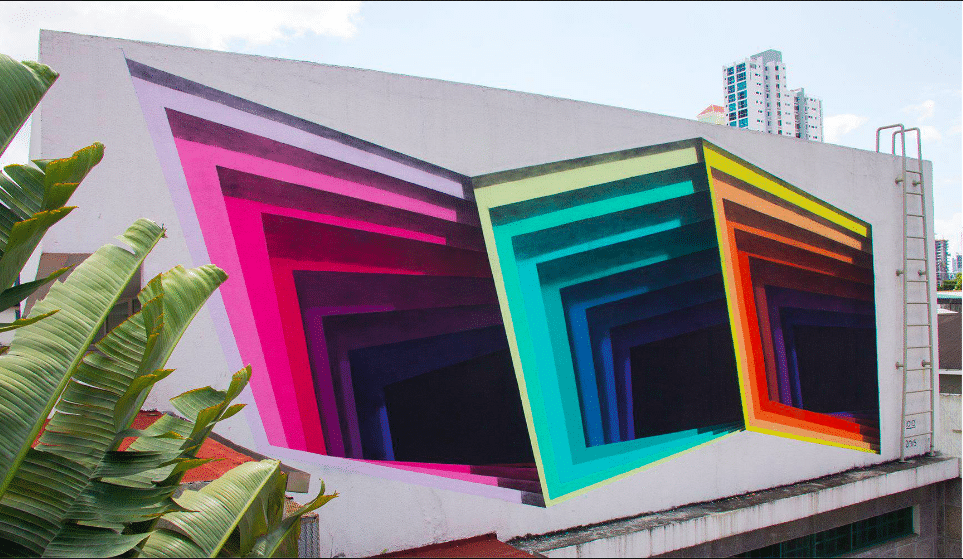1010 art 3d street art