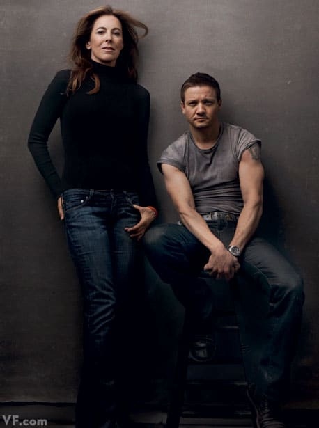 Kathryn Bigelow with Jeremy Renner One film together: The Hurt Locker (2009)