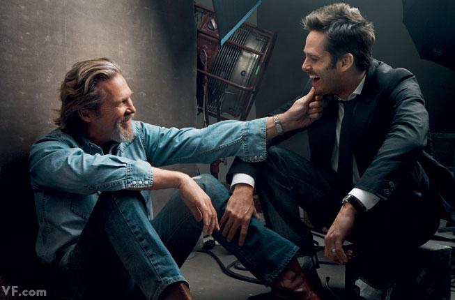 Scott Cooper with Jeff Bridges One film together: Crazy Heart (2009)