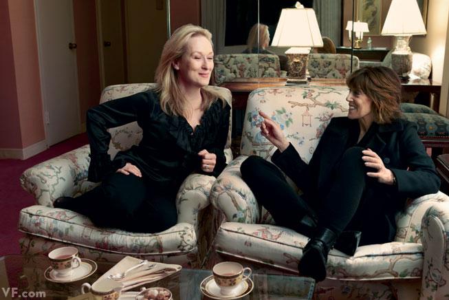 Nora Ephron with Meryl Streep Three films together: Silkwood (1983) and Heartburn (1986) with Ephron as writer, and Julie & Julia (2009) with Ephron as writer-director