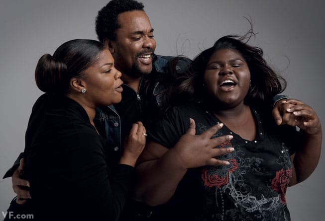 Lee Daniels with Mo'Nique and Gabourey Sidibe One film together: Precious: Based on the Novel Push by Sapphire (2009)