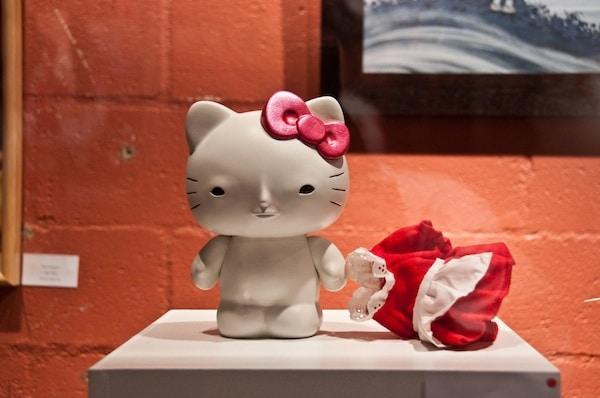 Naked Hello Kitty by Yoskay Yamamoto