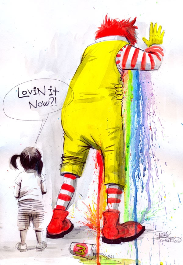 Sick Ronald by Lora8