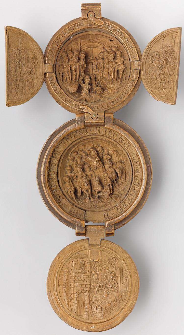 sixteenth century gothic boxwood miniatures art gallery of ontario small wonders