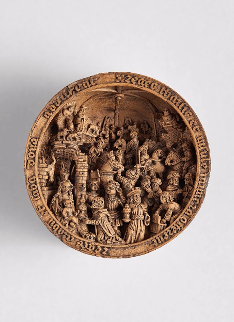 16th century gothic boxwood miniatures art gallery of ontario small wonders