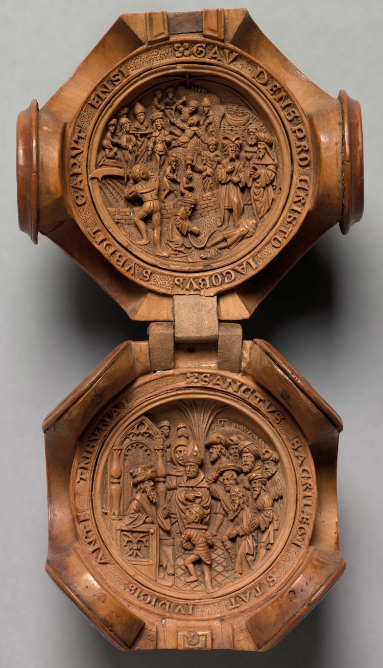 16th century gothic boxwood miniatures art gallery of ontario small wonders