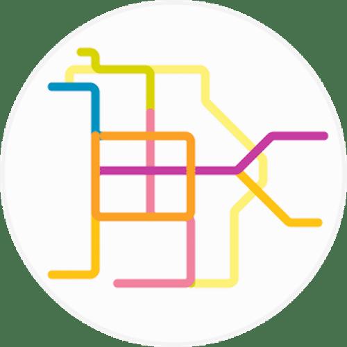 Peter Dovak Mini Metros City Transit Maps