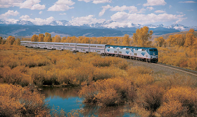 train travel across the USA for $213