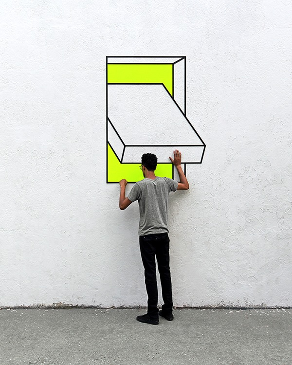 Aakash Nihalani street art - 15 Playful Street Artists