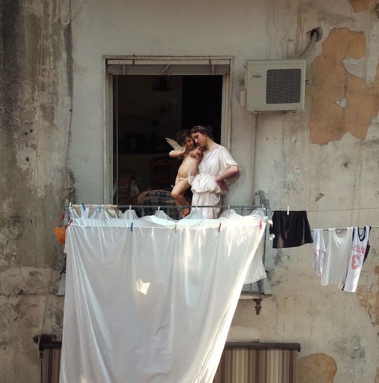 Alexey Kondakov Napoli Project contemporary photography classical painting