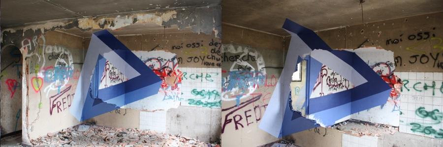 alexis facca three-dimensional graffiti