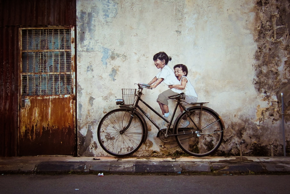 Ernest Zacharevic street art - 15 Playful Street Artists