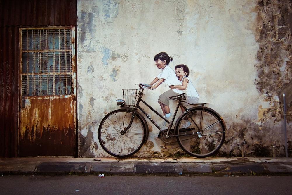 Ernest Zacharevic street art - 15 Playful Street Artists