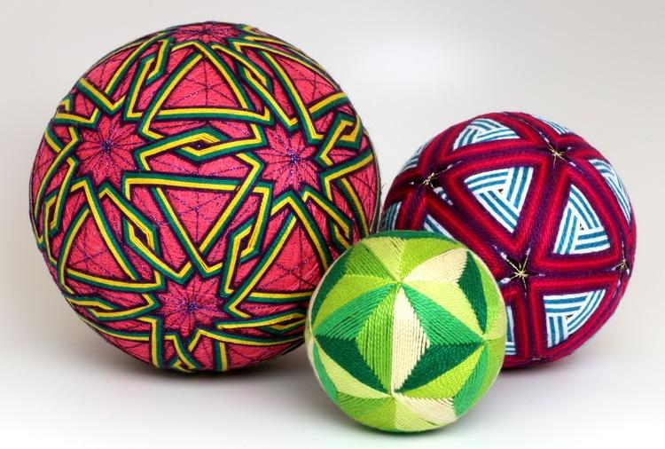 Temari Balls from Temari Twins