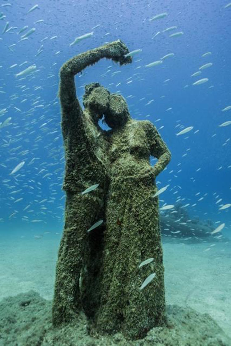 underwater museum jason decaires taylor museo atlantico lanzarote canary islands