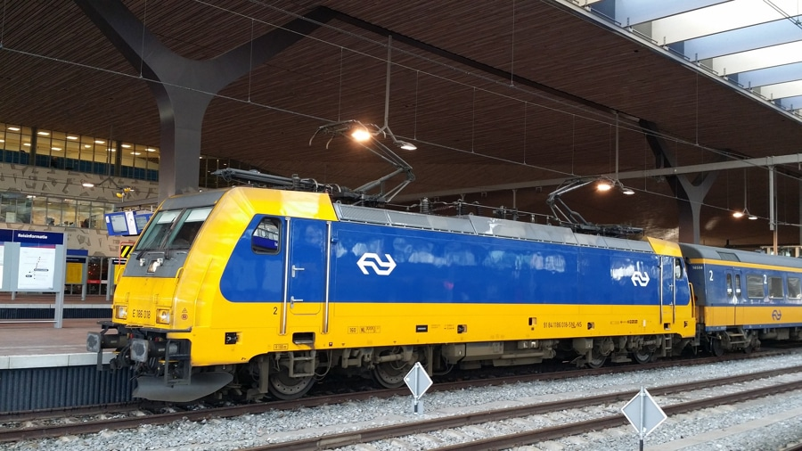 wind energy electric trains netherlands clean energy