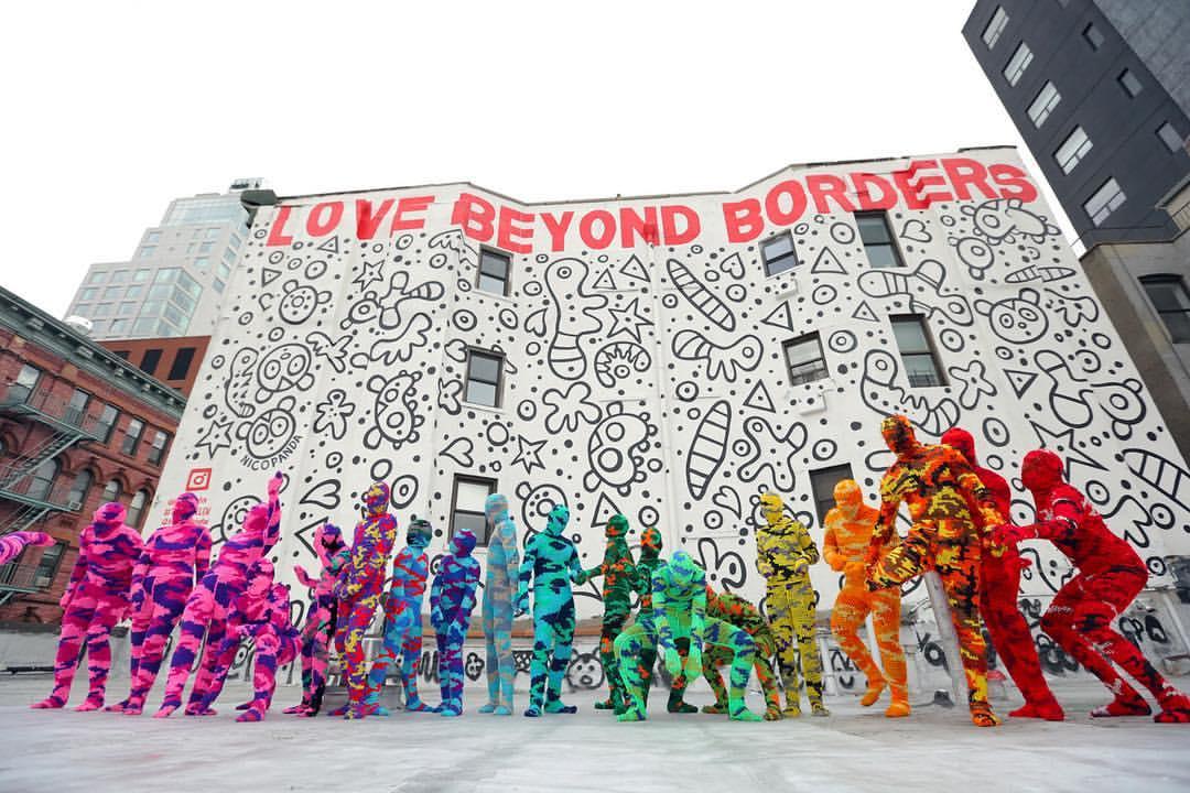 Olek knitting art - 15 Playful Street Artists