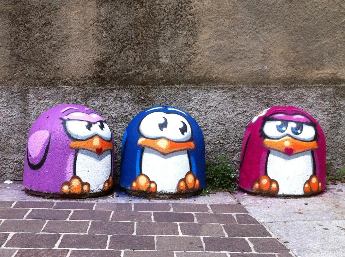Pao Pao street art - 15 Playful Street Artists