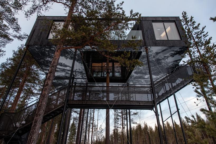 Snohetta Treehotel treehouse sweden