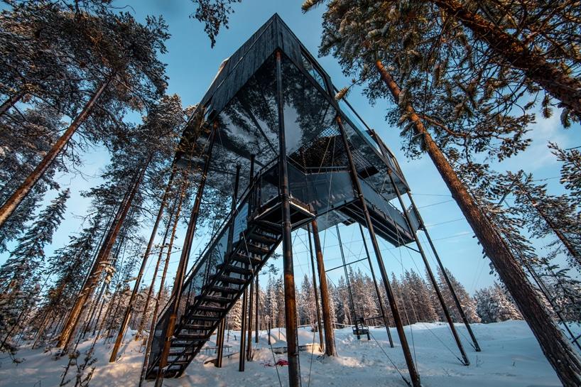 Snøhetta Treehotel treehouse sweden