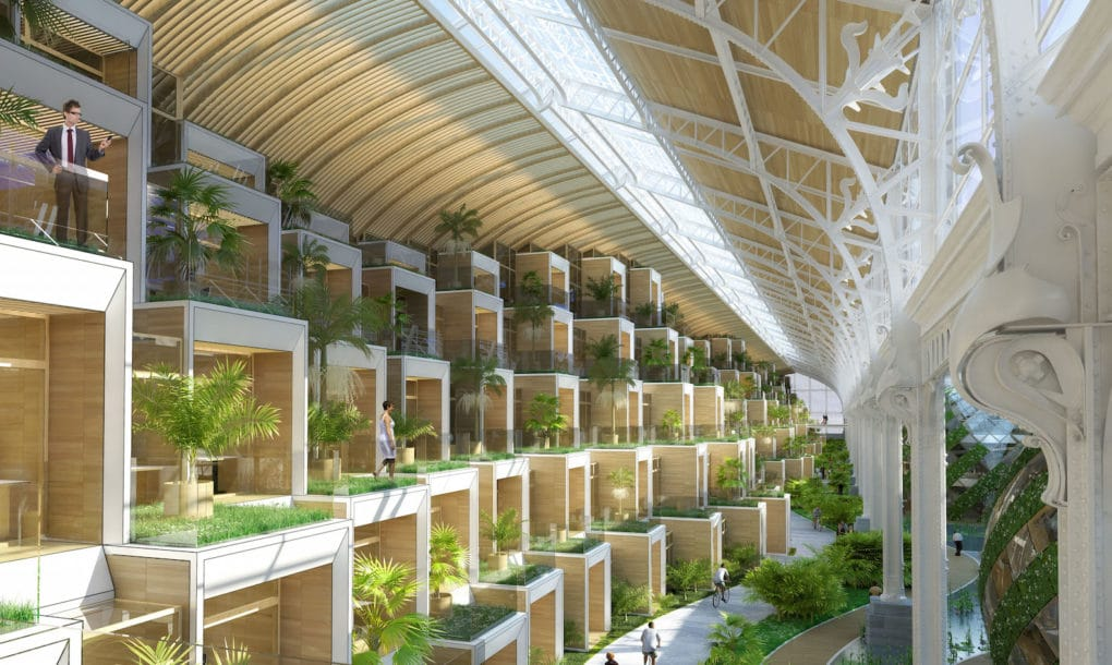 green sustainable architecture biomimetic design vincent callebaut tour and taxis