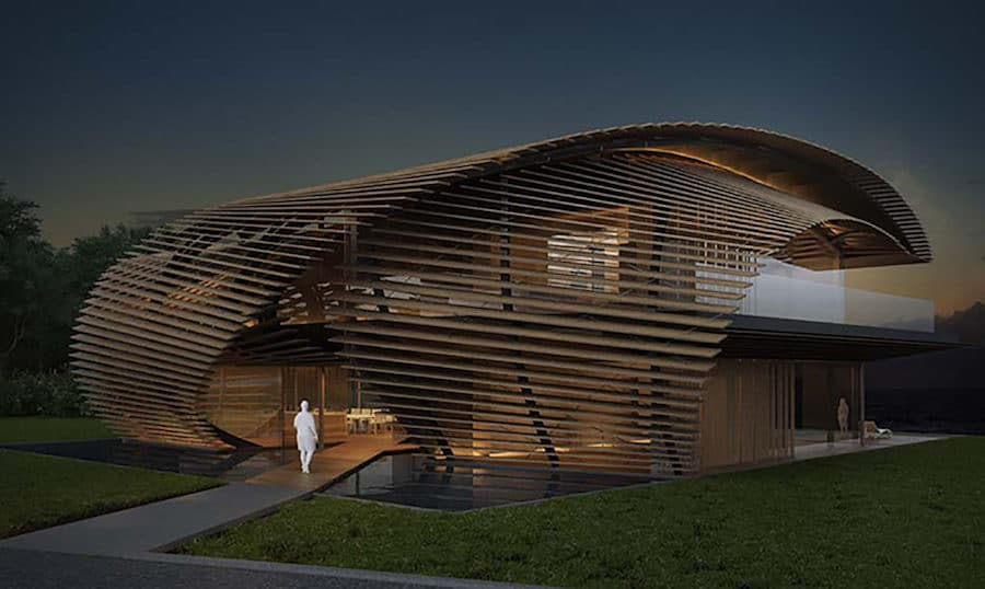 kengo kuma tsubomi villas bali indonesia contemporary balinese architecture
