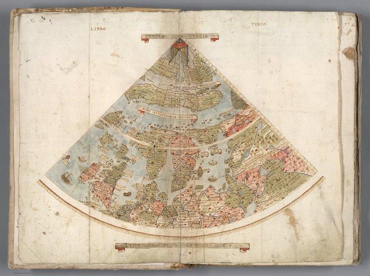 Urbano Monte Historical World Map