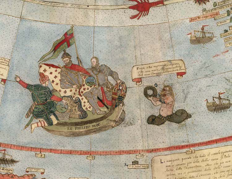 16th century historical map by urbano monte digitally stitched together historical map by urbano monte gumiabroncs Gallery