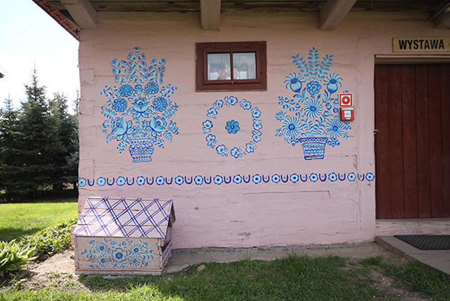 zalipie poland painted village decorative painting